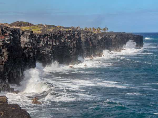 Costa vulcanica - Hawaii Volcanoes National Park