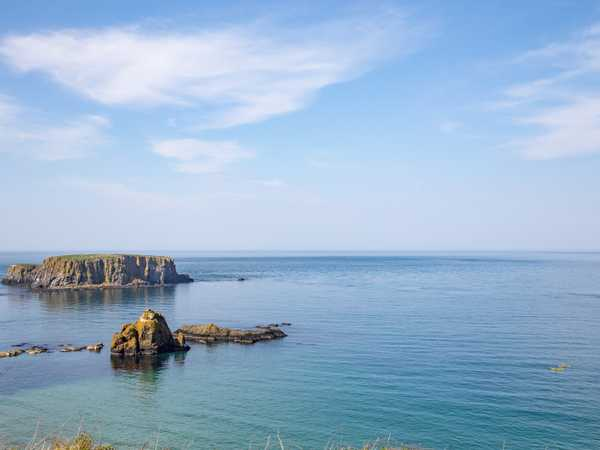 Rope bridge bay - Causeway Coastal Route