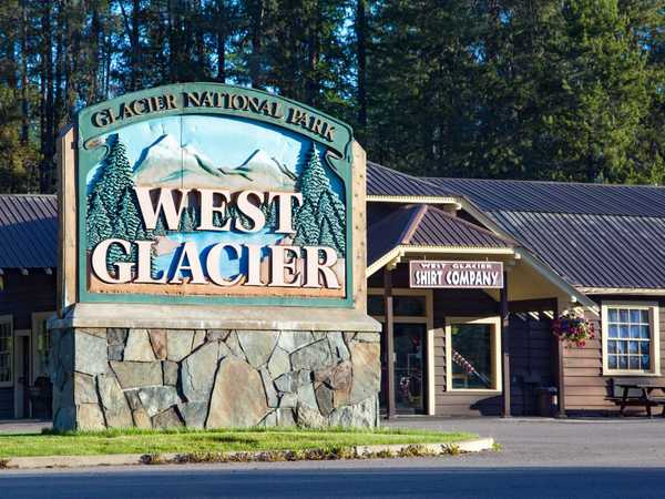 West Glacier gate